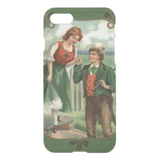 Irish Couple Shillelagh Shamrock iPhone 8/7 Case