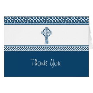 Irish Cross | Thank You Card