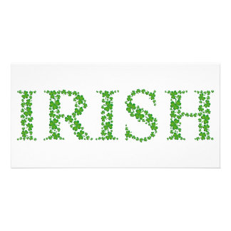 IRISH CUSTOM PHOTO CARD