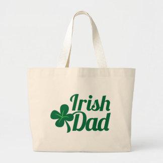 IRISH DAD St Patricks day irish design Tote Bag