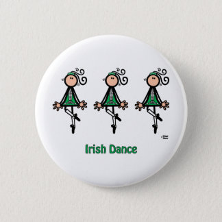 Irish Dance 6 Cm Round Badge