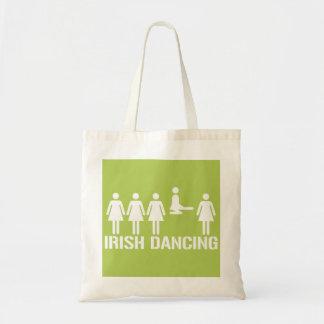 Irish dance tote bags