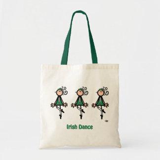 IRISH DANCE BUDGET TOTE BAG