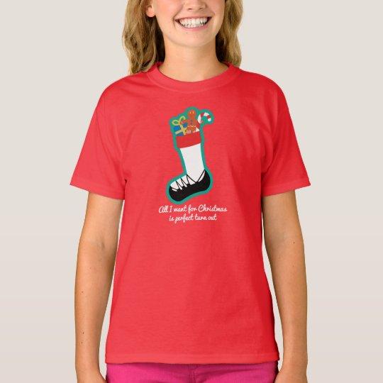 Irish Dance Christmas Ladies Shirt – Stocking