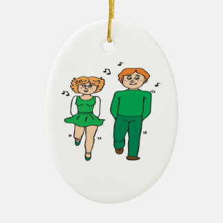 Irish Dance Christmas Ornament