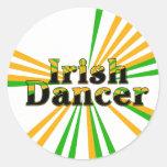 Irish Dance Classic Round Sticker