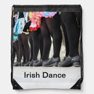 Irish Dance drawstrig bag Drawstring Bag