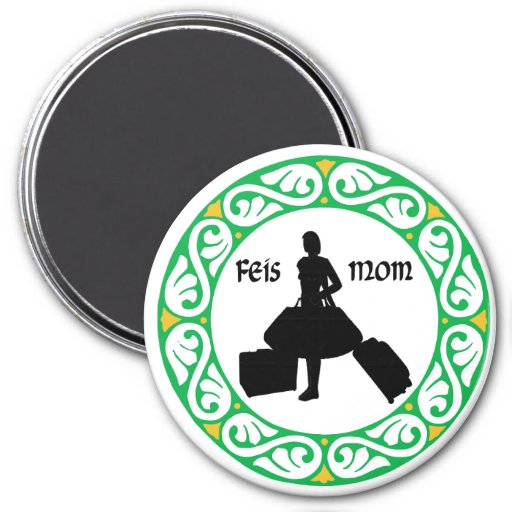 Irish Dance Feis Mom Refrigerator Magnets