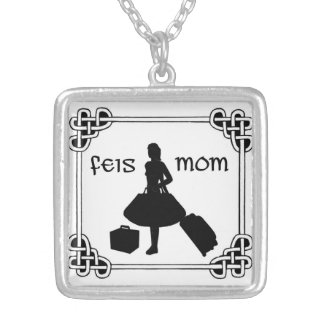 Irish Dance Feis Mom Necklace
