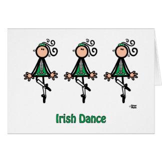 Irish Dance Greeting Card