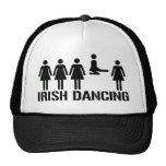 Irish dance mesh hats