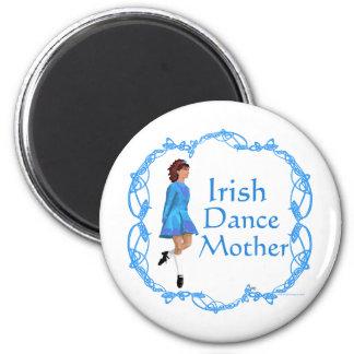 Irish Dance Mother - Blue 2 Inch Round Magnet