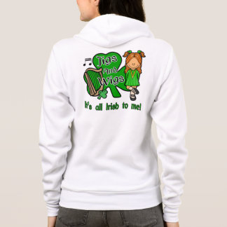 Irish Dance Mum, Jigs and Wigs Hoodie