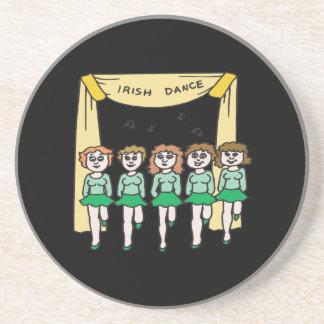 Irish Dance Sandstone Coaster