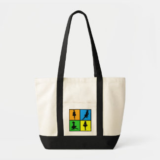 Irish Dance Silhouettes Tote Bag