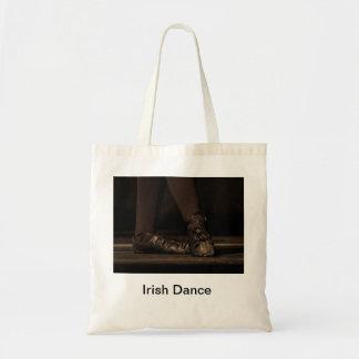 Irish dance tote canvas bags