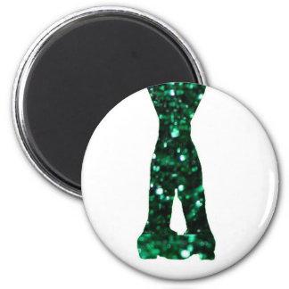 Irish Dancer 6 Cm Round Magnet
