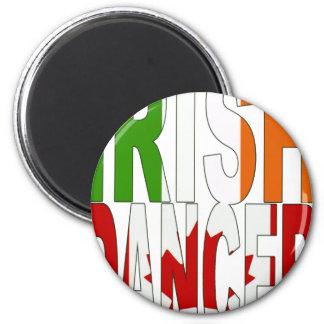 Irish Dancer  Canada [2] 6 Cm Round Magnet