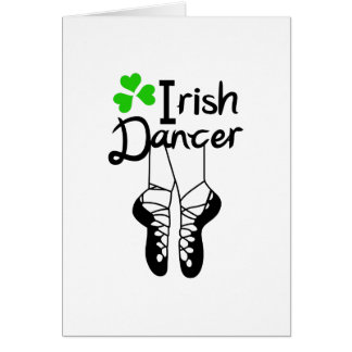 Irish Dancer Card