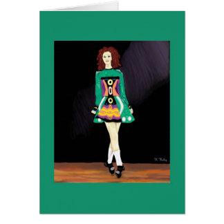 Irish Dancer card 2