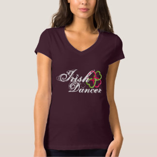 Irish Dancer clover celtic knot T-Shirt