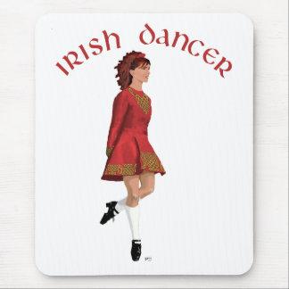 Irish Dancer in Red Mousepad