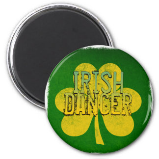 Irish Dancer Refrigerator Magnet
