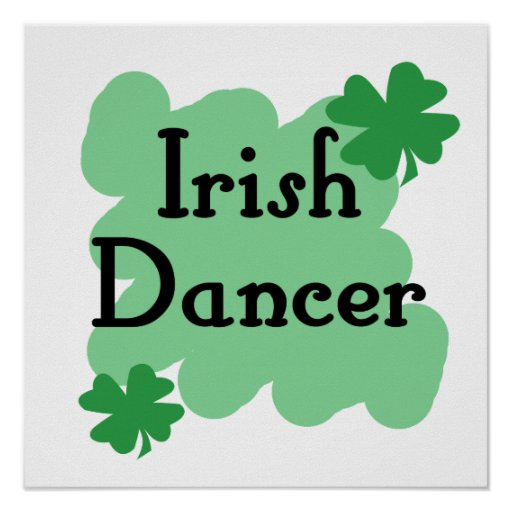 Irish dancer print