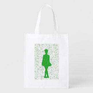 Irish Dancer Reusable Grocery Bag