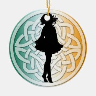Irish Dancer Traditional Ornament