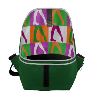 Irish Dancers Courier Bag