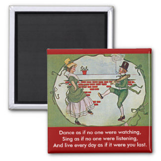 irish dancers vintage magnets