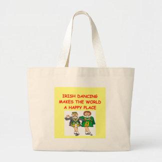 irish dancing canvas bag