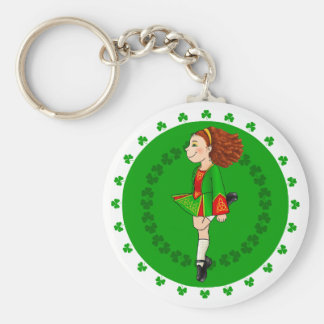 Irish Dancing Key Ring
