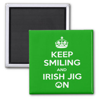 Irish Dancing Magnet
