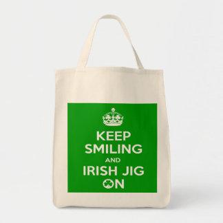 Irish Dancing Shopping Bag