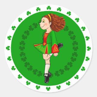 Irish Dancing Sticker
