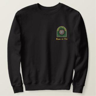 Irish Darts Embroidered Sweatshirt