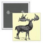 Irish Deer Button