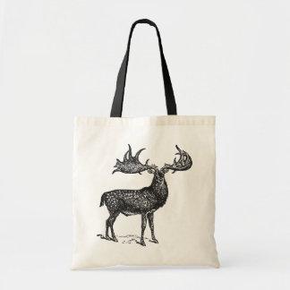 Irish Deer Tote Bag