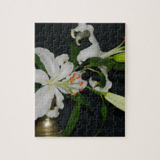 Irish Design-Brass and Flower Collection Puzzle