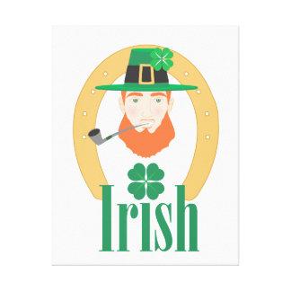 Irish Design Stretched Canvas Prints