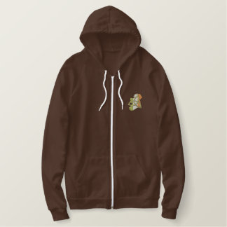 Irish Design Embroidered Hoodie