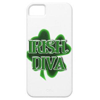 IRISH DIVA St. Patrick's Day Shamrock iPhone 5 Covers
