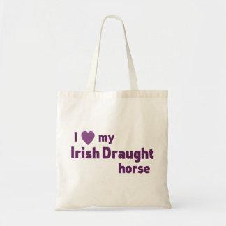 Irish Draught horse Tote Bags