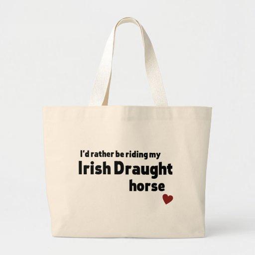 Irish Draught horse Tote Bag