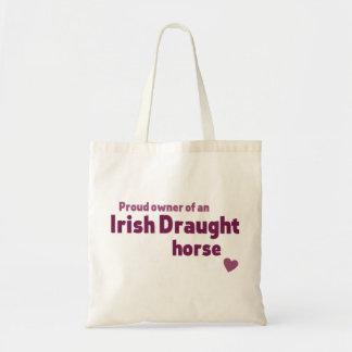 Irish Draught horse Budget Tote Bag