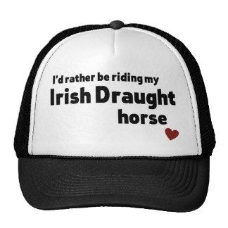 Irish Draught horse Cap