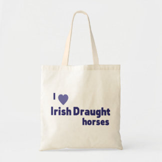 Irish Draught horses Tote Bags