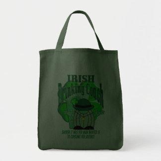 Irish Drinking Coach Tote Bags